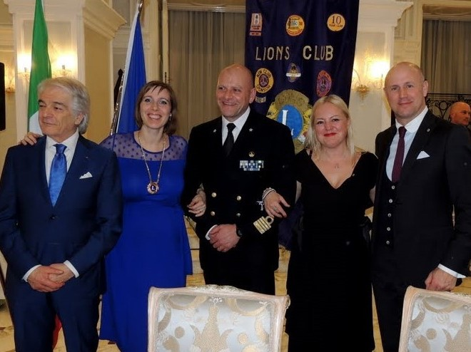 Lions Club e Marina Militare Scuola Nave Amerigo Vespucci