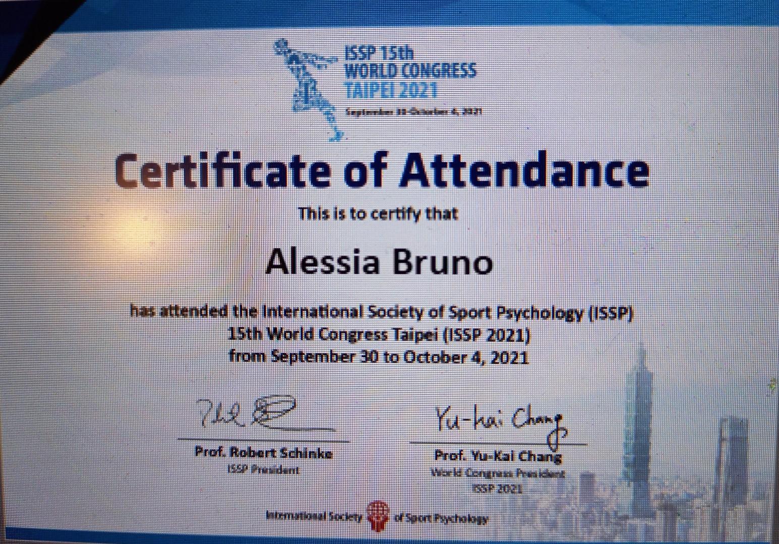 Congresso Mondiale dello Sport Taipei 2021